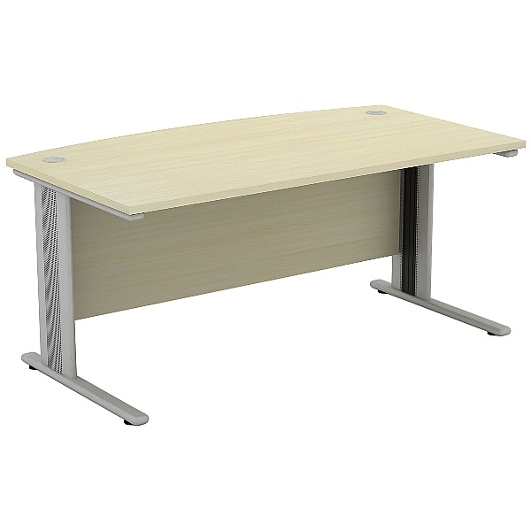 Accolade Bow Fronted Rectangular Desks