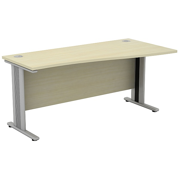 Accolade Compact Wave Desks