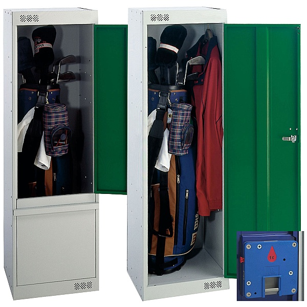 Golf Coin Return Locker With Biocote