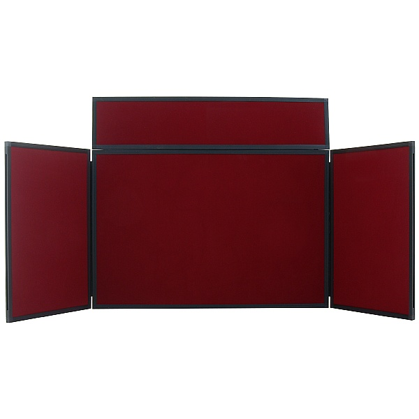 Plastic Frame Desk Top Display Screen
