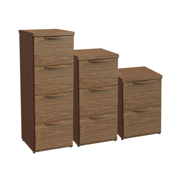 Accent Real Wood Veneer Filing Cabinets