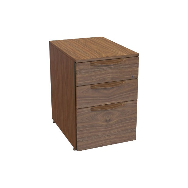 Accent Real Wood Veneer 3 Drawer Filing Cabinets