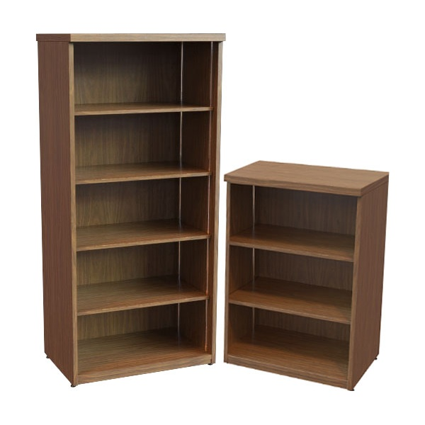 Accent Real Wood Veneer Bookcases