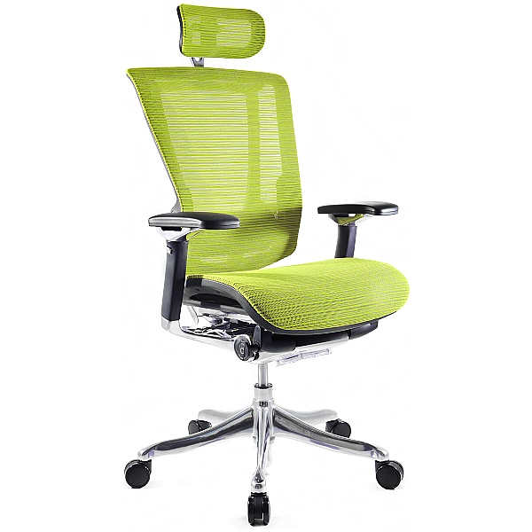 Nefil Ergonomic Office Chair (With Headrest)