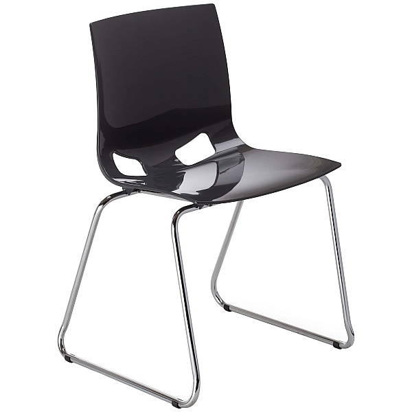Garcia Designer Stacking Sled Base Chair