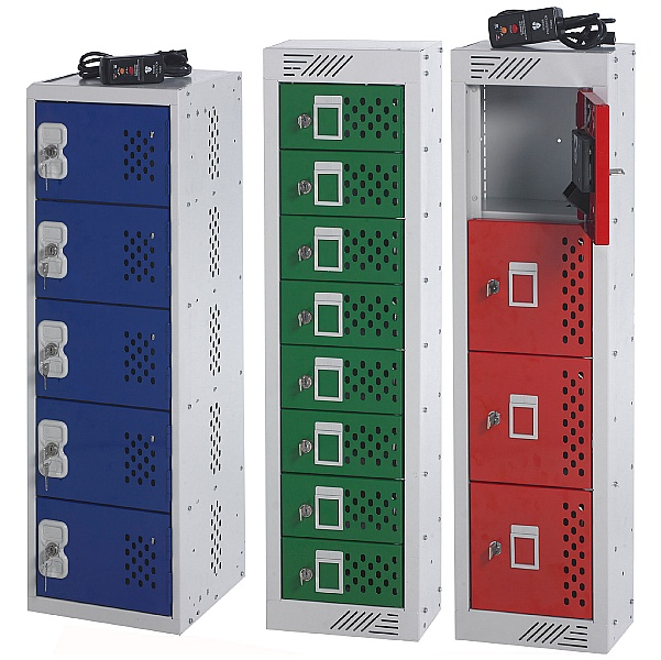 Personal Item Charging Lockers