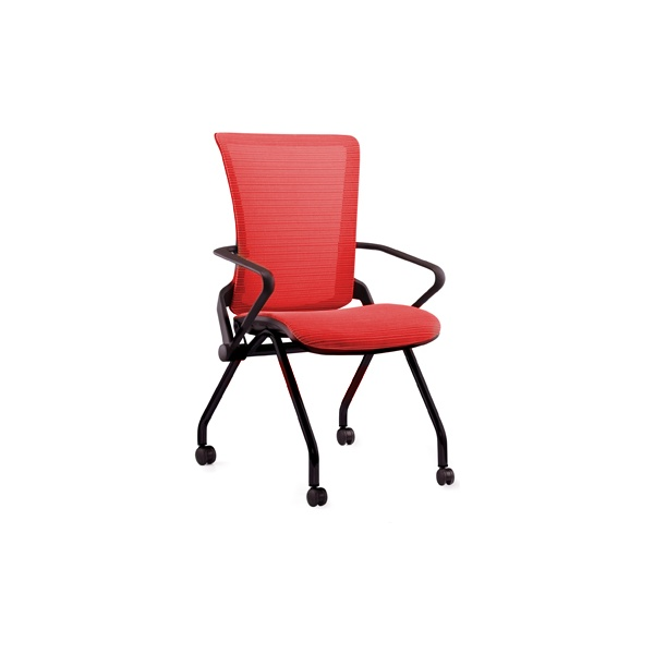 Lii Nesting Conference Chair Red