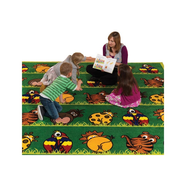 Town & Country Zoo Animals Carpet
