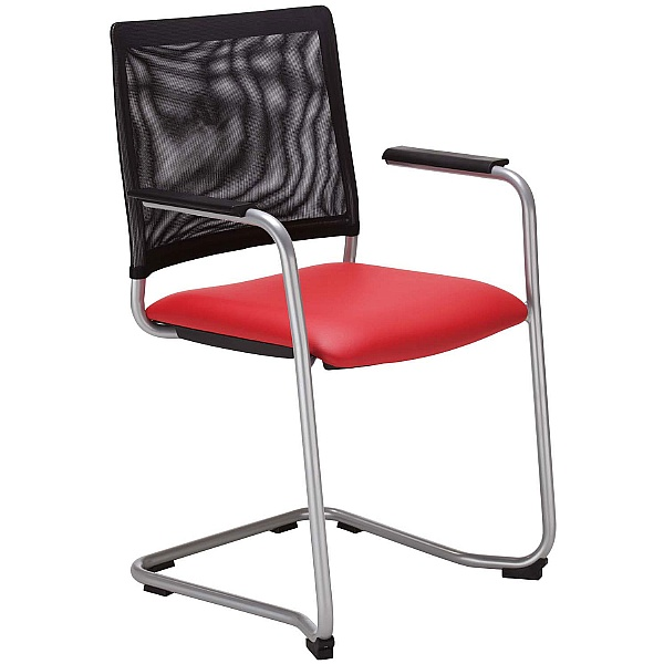 Intrata Mesh Back Cantilever Visitor Chair
