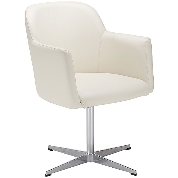 Athena Leather Faced Reception Chair