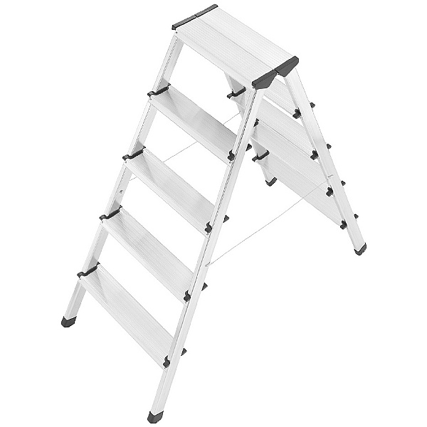 Hailo L90 Double Sided Aluminium Safety Ladders