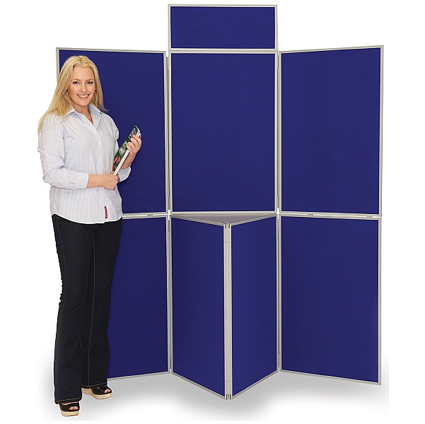 7 Panel Fold-Up Display Screen