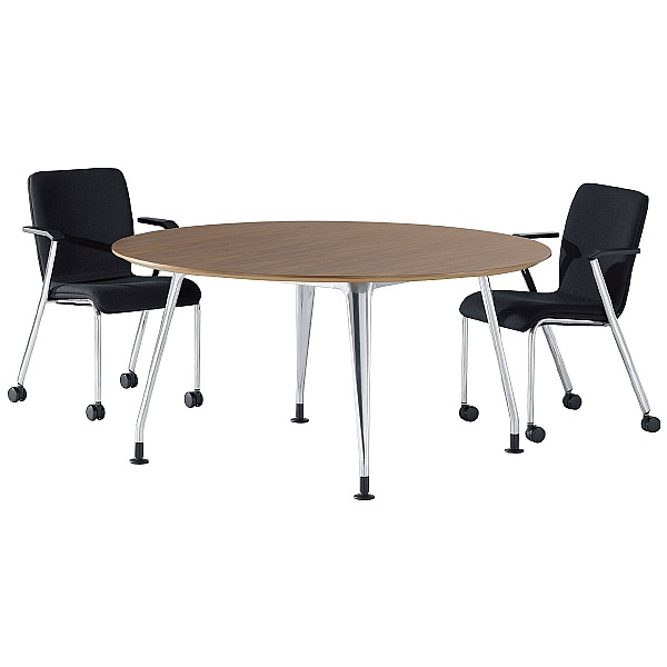 DNA Round Wooden Meeting Table