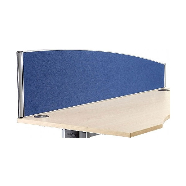 Alpha Plus Executive Curved Desk Screens