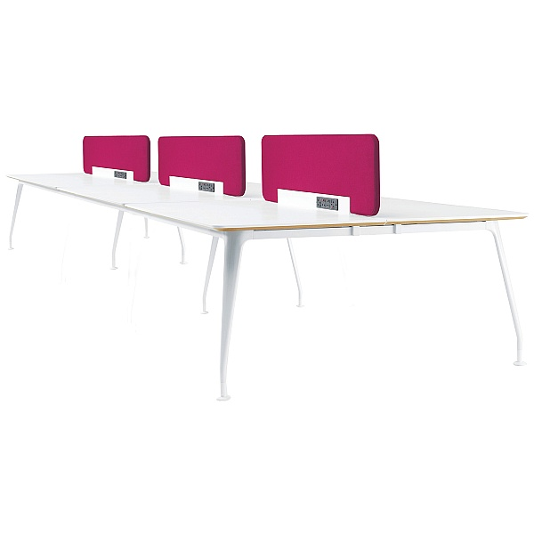 DNA Sexto Rectangular Bench Desks
