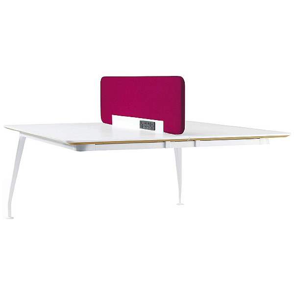 DNA Double Rectangular Add-On Bench Desk