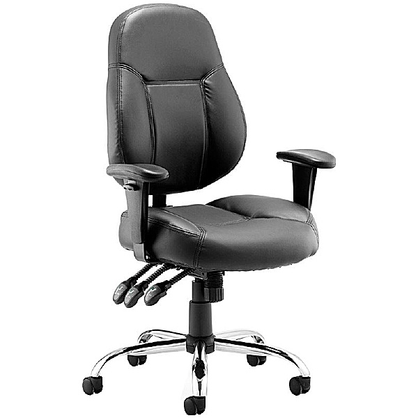 Tornado Enviro Leather Task Chair