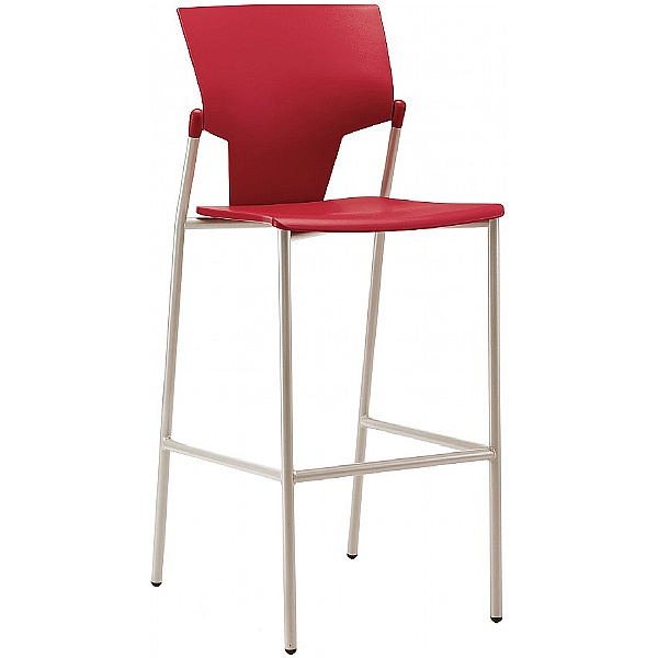 Pledge Ikon 4 Leg Polypropylene Stool
