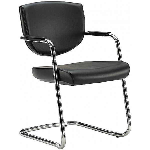 Pledge Key Low Back Stackable Cantilever Chair