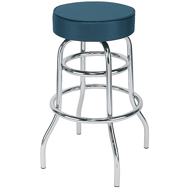 Retro Twist Velvet Bistro/Bar Stool