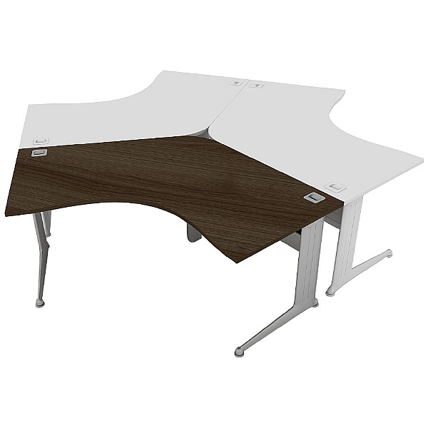 Elite Kassini 120 Degree Desks