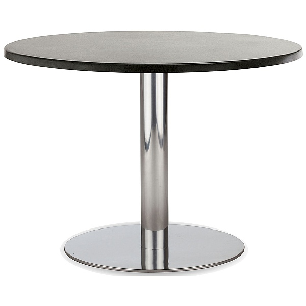 Lara Inox Low Veneer Table