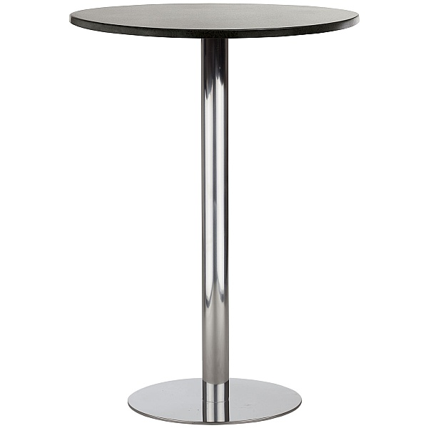Lara Inox High Veneer Bistro/Bar Table