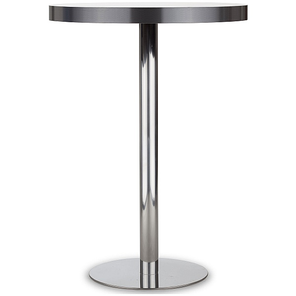 Lara Inox High Aluminium Edged Bistro/Bar Table