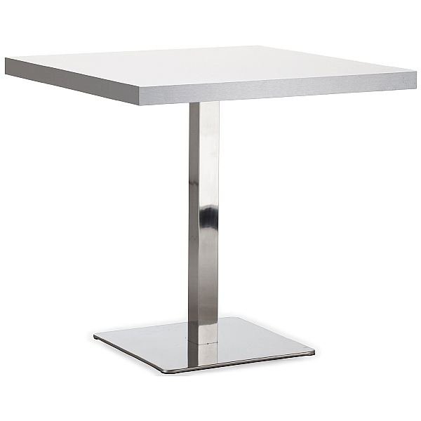 Square Aluminium Edged Melamine Table