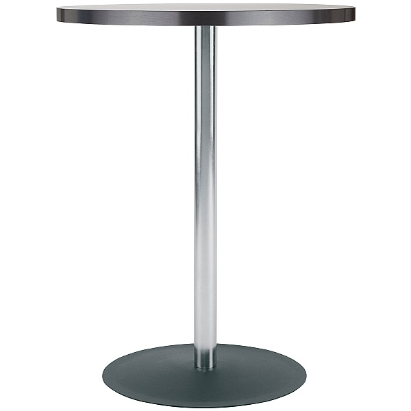 Lena High Aluminium Edged Melamine Bistro Table