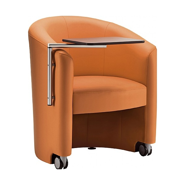 Pledge Inca Tub Chair With Swingaway Writing Table