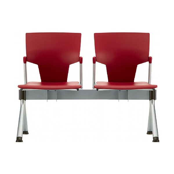 Pledge Ikon Polypropylene  Beam Seating - 2 Seats