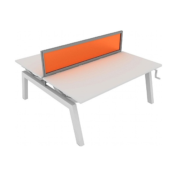 Elite Linnea Elevate Double Bench Acrylic Screens