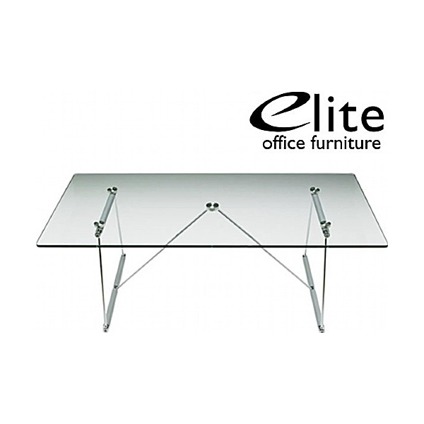 Elite Glass Rectangular Coffee Table