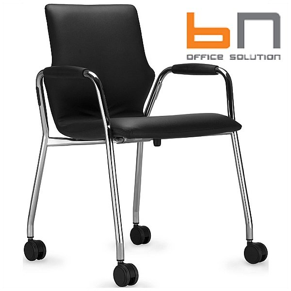 BN Conversa Leather Mobile Conference Chair