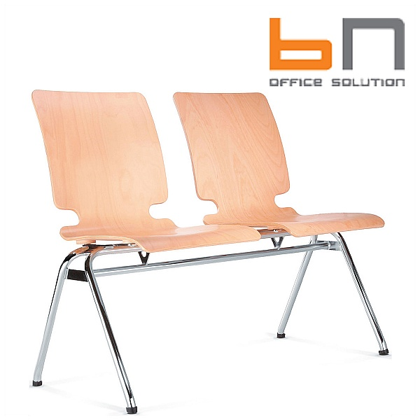 BN Axo 2 Seater Wooden Bench