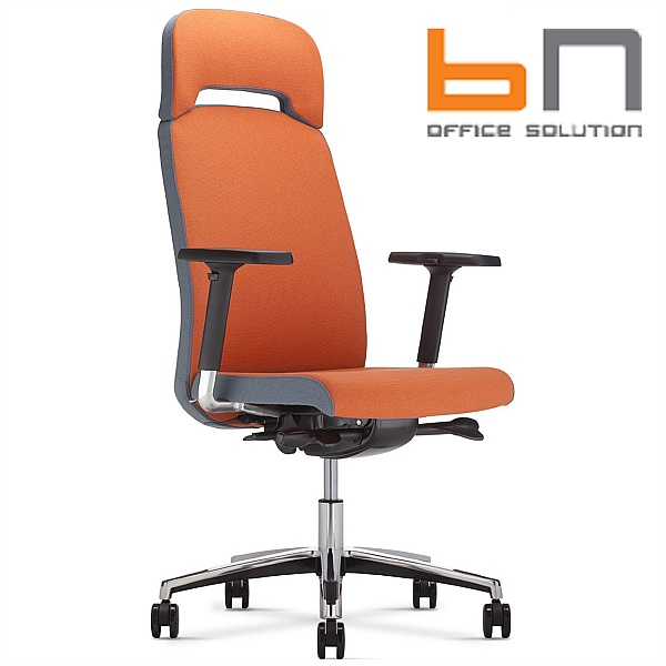 BN Belive Fabric Executive Chair With Headrest