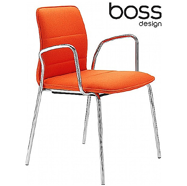 Boss Design Arran 4-Leg Meeting Chair