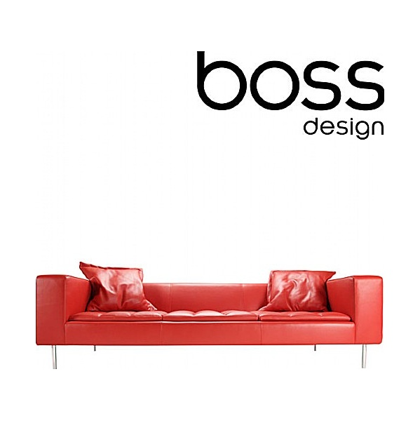 Boss Design Fairfax Sofa With Scatter Cushions