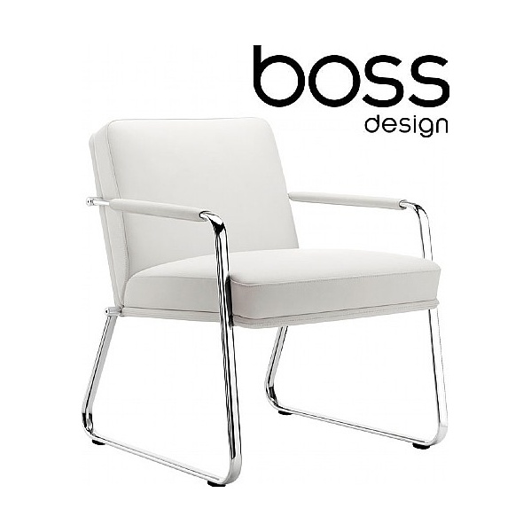 Boss Design Optima Arm Chair With Sled Base