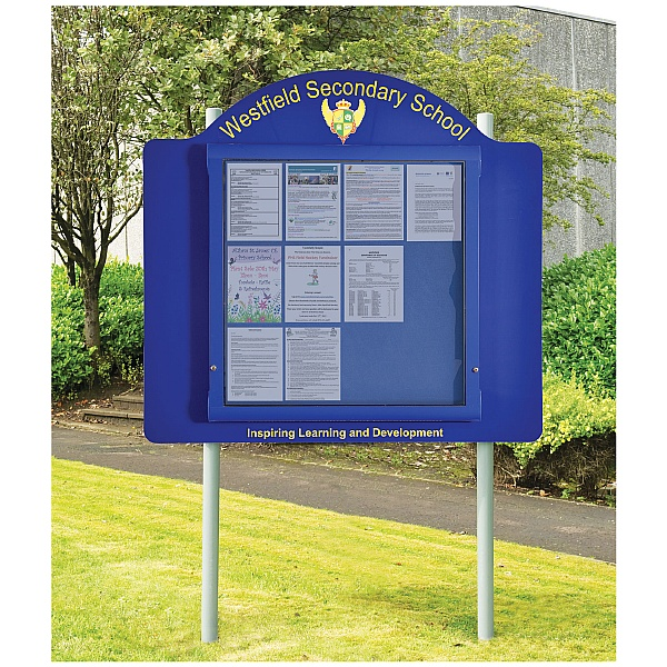WeatherShield Freestanding External Signage