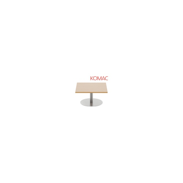 Komac Reef Square Coffee Table Round Base