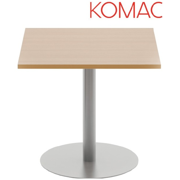 Komac Reef Square Meeting Table Round Base