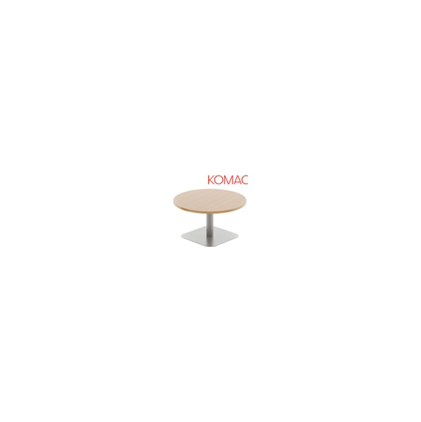 Komac Reef Round Coffee Table Square Base