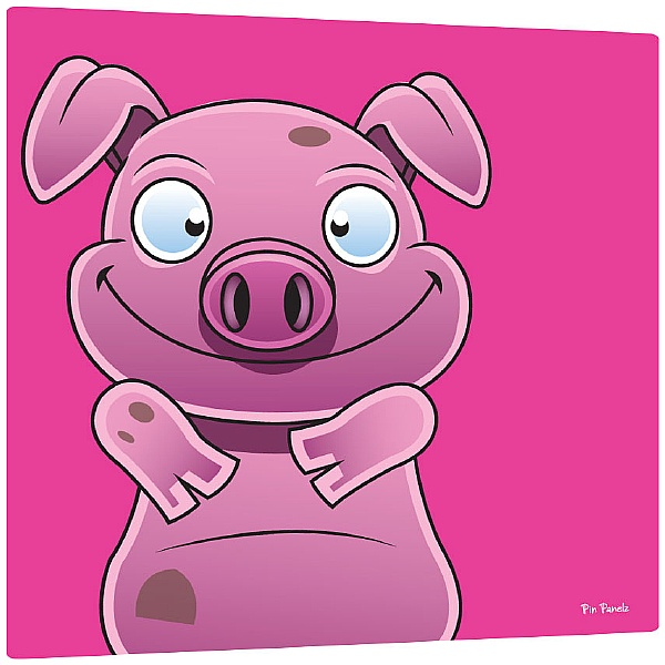 Pin Panelz Primary Graphics Alfie Pig