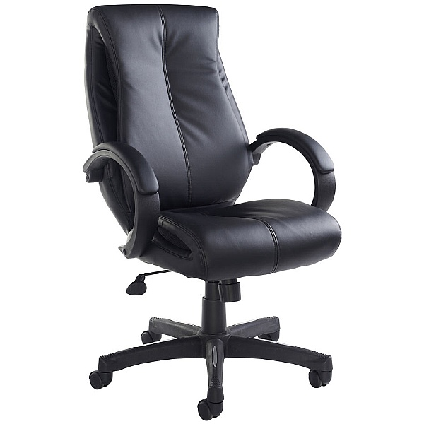 Nureyev Leather Faced Managers Chair