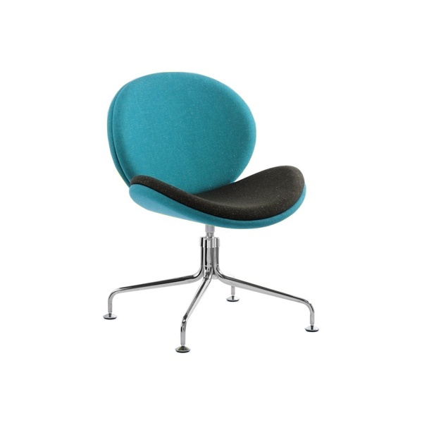 Giggle 4 Leg Swivel Reception Chair