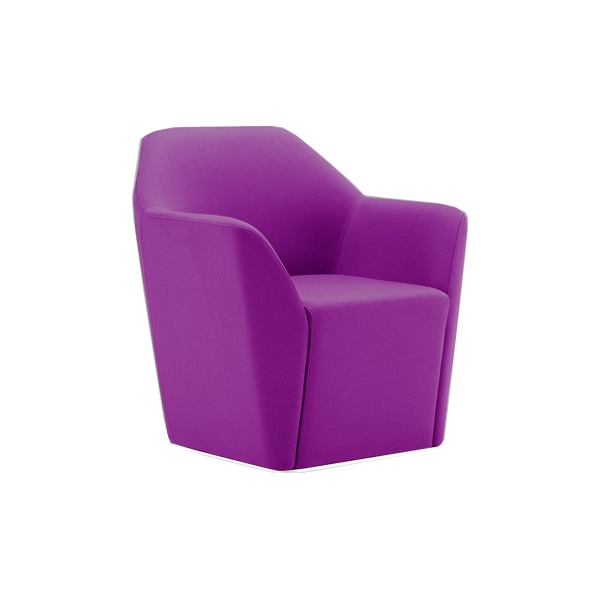 Chamfer Swivel Tub Chair