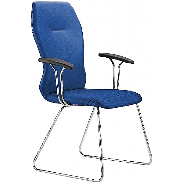 Grammer Office Galileo Fabric Skid Base Side Chair