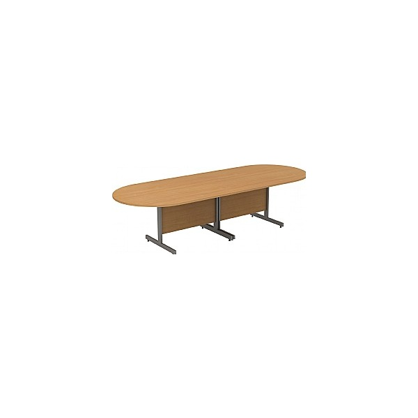 Alpha Plus Deluxe D-End Boardroom Tables